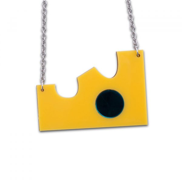 Big Cheese Statement Necklace