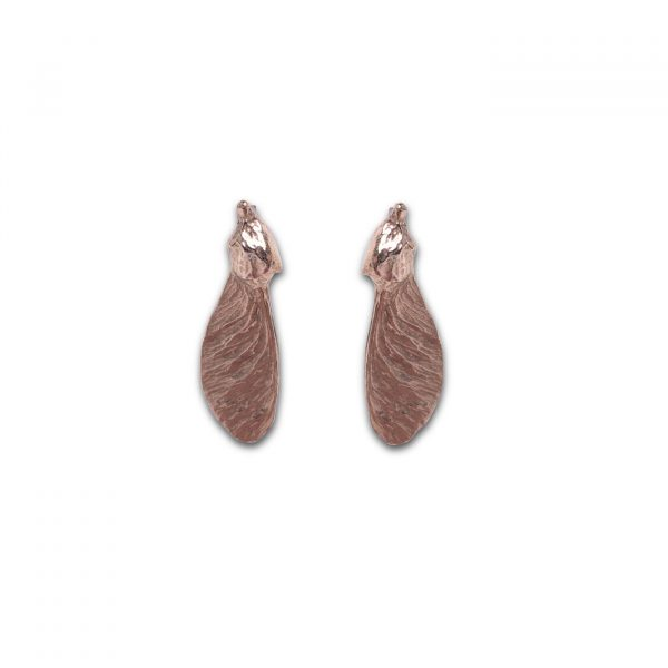 Sycamore Pod Earrings - Bronze