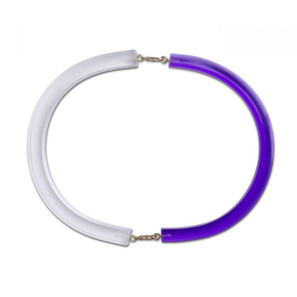 Optika Full Moon Necklace - Purple