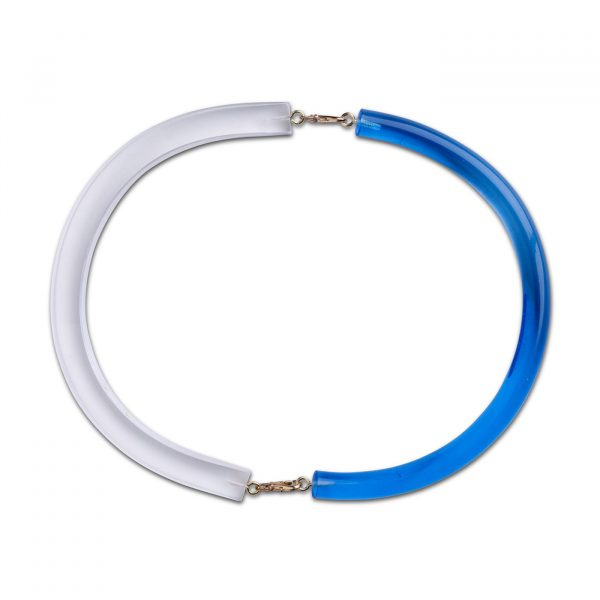 Optika Full Moon Necklace - Blue