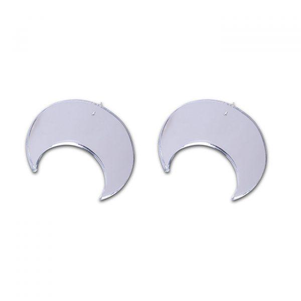 Oversize Moon Earrings