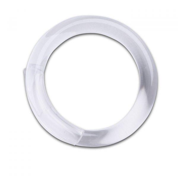 Optika Curve Bangle - Clear